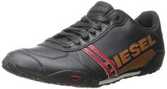 Diesel Men's Harold Solar Nylon Fashion Sneaker -- Find out more details by clicking the image : Mens shoes sneakers