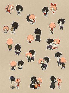 Tags: Fanart, NARUTO, Haruno Sakura, Uchiha Sasuke, Pixiv, Fanart From Pixiv, Pixiv Id 1176730, Uchiha Sarada