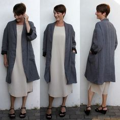 My Slouchy Haremere Coat // Merchant & Mills | Groovy Baby....and mama | Bloglovin'