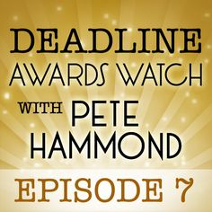 "My latest podcast with Deadline Hollywood Awards Columnist Pete Hammond is up, episode 7 of ""Deadline Awards Watch.""     We talk about the continuing headaches with the Motion Picture Academy's new Oscar voting process, as nominations prepare to close tomorrow; what the Producers Guild picks for the Zanuck award mean for the Best Picture Oscar; and Pete's picks for 2012's best screenplays.     Hear it all here…"