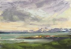 Karen Margulis Painting My World: The Studio by the Sea...Painting in Iceland