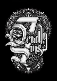 Seven Deadly Sins on Behance