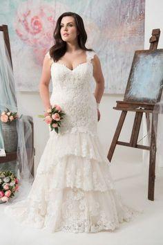 Carolina | Callista Plus Size Wedding Dresses