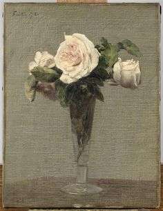 Customise Fleurs by Henri Fantin-Latour and decorate your walls with our art prints handmade in France. Henri Fantin Latour, Painting Still Life, Still Life Art, Art Floral, Kunst Poster, Paul Cezanne, Beautiful Paintings, Painting & Drawing, Original Art