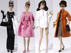 Just saying, if I ever DO end up having a Breakfast at Tiffany's inspired wedding...SOMEone better get me this whole set of dolls to use as decor. And then obviously to keep on a shelf forever and ever.