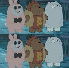We bare bears Simpson Wallpaper Iphone, Bear Wallpaper, Cute Wallpaper Backgrounds, Wallpaper Iphone Cute, Cute Cartoon Wallpapers, Ice Bear We Bare Bears, We Bear, We Bare Bears Wallpapers, Bff Drawings