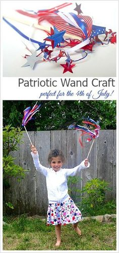 This patriotic wand
