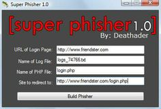 Super Phisher 1.0 by Deathader Free Download - All Tech Hacks