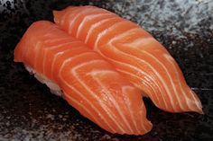 Vitamin D aids in the absorption of calcium, helps in the prevention of osteoporosis and promotes joint and bone health. Fish that are high in vitamin A include salmon--a single serving has 18 percent of recommended daily allowance.    Have you had your sushi today?