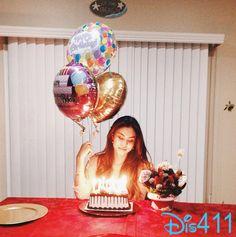 Photo: Ashley Argota With Her Birthday Cake