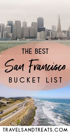 The best things to do in San Francisco, by a San Francisco local. A San Francisc… The best things to do in San Francisco, by a San Francisco local. A San Francisco bucket list with San Francisco's best food, sights, and activities. San Diego, San Francisco Travel Guide, Food In San Francisco, Shopping In San Francisco, Restaurants In San Francisco, San Francisco Trip, San Francisco To Monterey, San Francisco Sights, Weekend In San Francisco