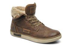 Mustang shoes Ottis (Marron) - Baskets chez Sarenza (199593)