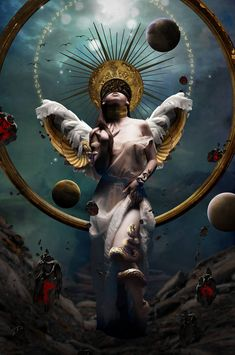 Oracle by Butterkuegelchen on DeviantArt - paint and art Dark Fantasy Art, Dark Art, Rabe Tattoo, Arte Obscura, Arte Horror, Jolie Photo, Angel Art, Surreal Art, Aesthetic Art