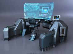 Futuristic Technology internet of things Armes Futures, Cyberpunk, Computer Terminal, Laser Tag, Spaceship Interior, Futuristic Interior, Spaceship Design, Futuristic Architecture, Futuristic Technology