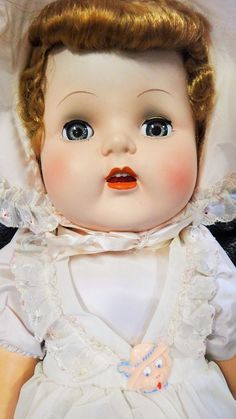 Vintage Baby Doll Plastic & Magic Skin 29""