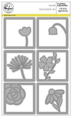 Floral squares