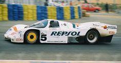 1988 Porsche 962 C  Porsche (2.998 cc.)   Massimo Sigala  Jésus Pareja Mayo  Uwe Schäfer