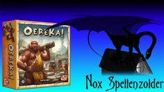 """Uitleg & Review van het spel """"Oereka!"""", uitgegeven door White Goblin Game, door Nox' Spellenzolder. Vragen, opmerkingen of verzoekjes, mail mij gerust. 2+ Sp..."""