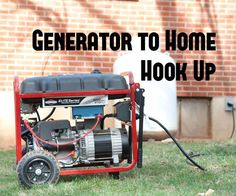 A generator is a core component to many people& emergency preparedness plans. (Maybe you have a cool charcoal powered or a multi-fuel generator.) However many fail to think through how exactly they will power the items they want to run when the grid Generator Shed, Emergency Generator, Portable Generator, Power Generator, Generator For Home, Emergency Preparedness Plan, Emergency Power, Survival Prepping, Hurricane Preparedness