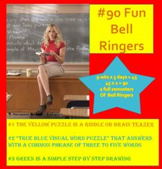 #90 Daily Bell Ringers contains three types of puzzles designed for your overhead projector to be used as students transition into the classroom. (That segment of high-energy, non-structured time, when you need 10 more minutes to gather your next lesson.) Without prompting students will pull out their Name Art Projects, Mosaic Art Projects, Drawing Birds, Drawing Trees, Drawing Flowers, Overlapping Art, Overhead Projector, Classroom Procedures, Underwater Art