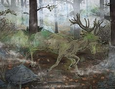 Radstag illustration, by Vector That Fox