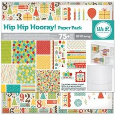 Hip Hip Hooray! Paper Pack