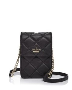 kate spade new york Emerson Place Janele Quilted Leather Crossbody | Bloomingdale's