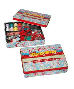 Blue Paisley Park Sewing Kit by Home Treats from Rex on #zulilyUK today!