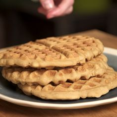 A cambodian classic, these Coconut Waffles are super easy, just dump and stir.