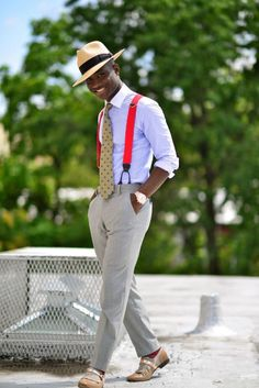 http://chicerman.com  completewealthmag:  Filed under: Trousers Brackets Monk straps Fedoras Ties Accessories  #summerlook