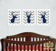 Hey, I found this really awesome Etsy listing at http://www.etsy.com/listing/159019877/deer-print-set-deer-nursery-hunting