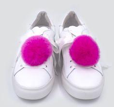 Sneaker Charm Set Rabbit Fur Rosè _ Sneaker Patches _ IPHORIA