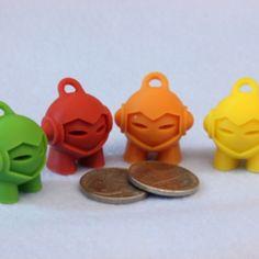 Concentrateurs 3D Marvin - Porte-clés