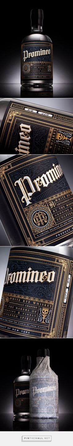 Promineo Whiskey — The Dieline - Branding & Packaging Design