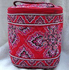 Vera Bradley Cool Keeper insulated lunch tote bottle bag Frankly Scarlet  NWT Retired VHTF