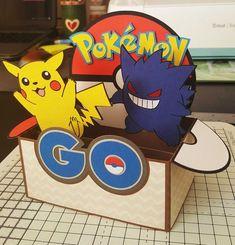 Pokemon ir caja tarjeta de SVG