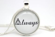 Harry Potter 'Always' Deathly Hallows Symbol Glass by BeneathGlass, $11.90