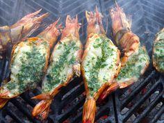 """""""Extra-Colossal"""" Shrimp/Prawns a la Marketman"""