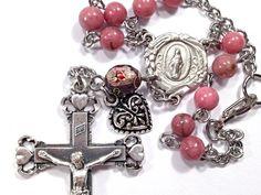 Custom Auto Rosary #Rosary  #Heart