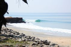 Salted Boards | Surfing pointbreaks in Varkala, India #surf #wave #ocean #varkala #kerala #india #landscape #seascape
