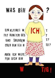 Postkarte mit Illustration von Antje Damm im ÖKO-Druck