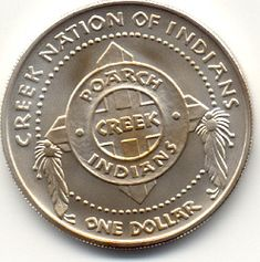 ... for Poarch <b>Creek</b> Nation of <b>Indians</b> coins are sculpted by Alex Shagin