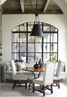 double pane arched steel windows - Google Search