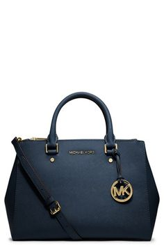 MICHAEL Michael Kors 'Medium Sutton' Saffiano Leather Tote available at #Nordstrom