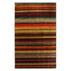 Mohawk Home Boho Stripe Area Rug at Target (Price cut)