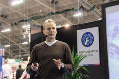 Veikka Gustafsson Turvallisuus-ohjelmalavalla