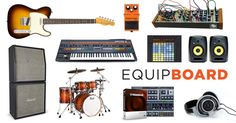 Come check out the music gear they use. Music Instruments, Musical Instruments