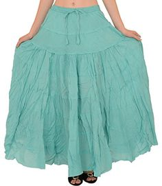 SNS Pure Cotton Beach Long Maxi Evening Skirt *** You can find more details by visiting the image link.