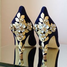 "c074d91b1d5 Harriet Wilde Shoes on Instagram  ""Let s talk something blue"