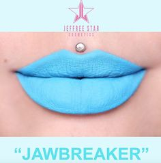 😱😱😱😱 NEW shade alert from Meet a sky blue Velour Liquid Lipstick, and it's only one of THREE blue liquid lipstick shades launching this Summer. Jeffree Star Liquid Lipstick, Blue Lipstick, Lipstick Shades, Lipstick Colors, Star Makeup, Clown Makeup, Beauty Killer, Makeup Looks Tutorial, Makeup Needs